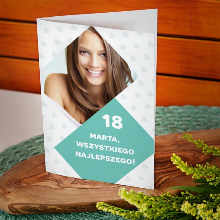 18 urodziny najlepszego - kartka z życzeniami