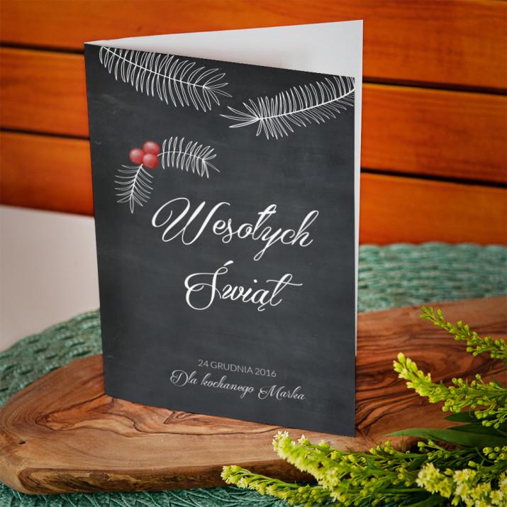 24 grudnia - kartka z życzeniami