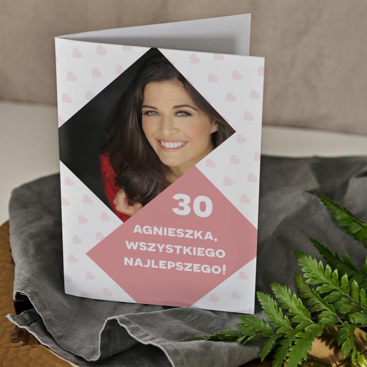 30 urodziny najlepszego - kartka z życzeniami