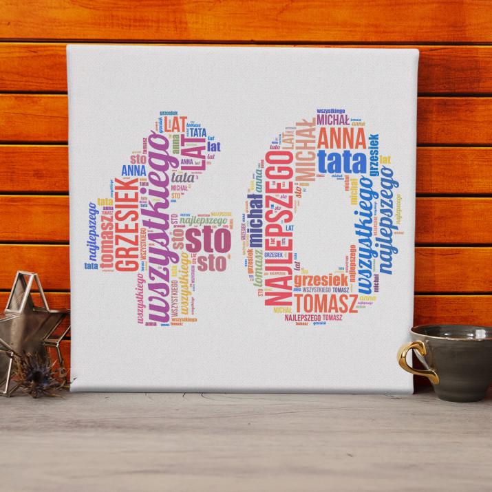 40 - obraz z Twoich słów