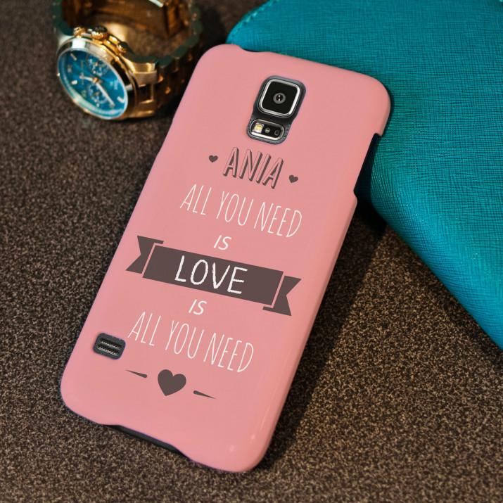 All You Need Is Love - etui na telefon