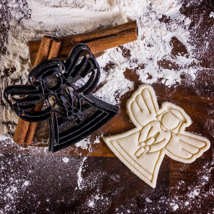 Aniołek - foremka 3D do ciastek