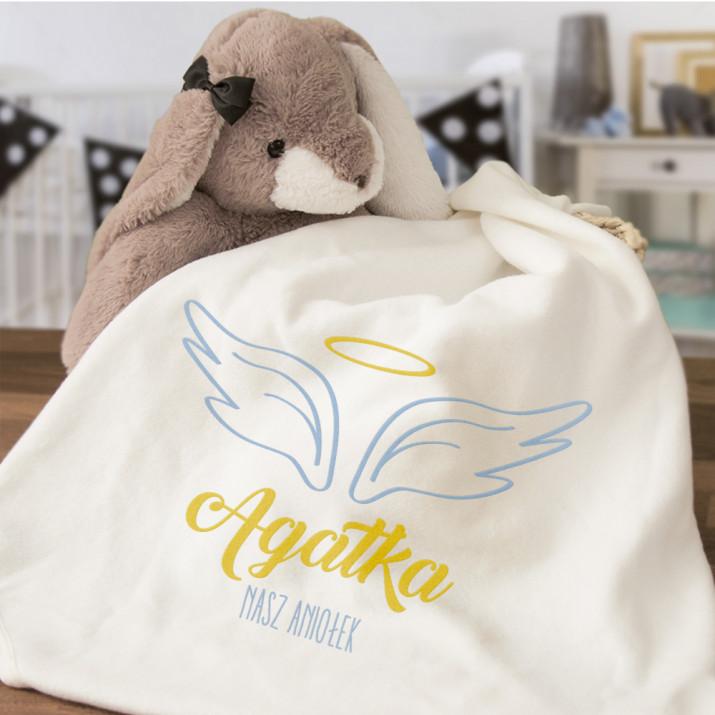 Aniołek - Ręcznik niemowlęcy