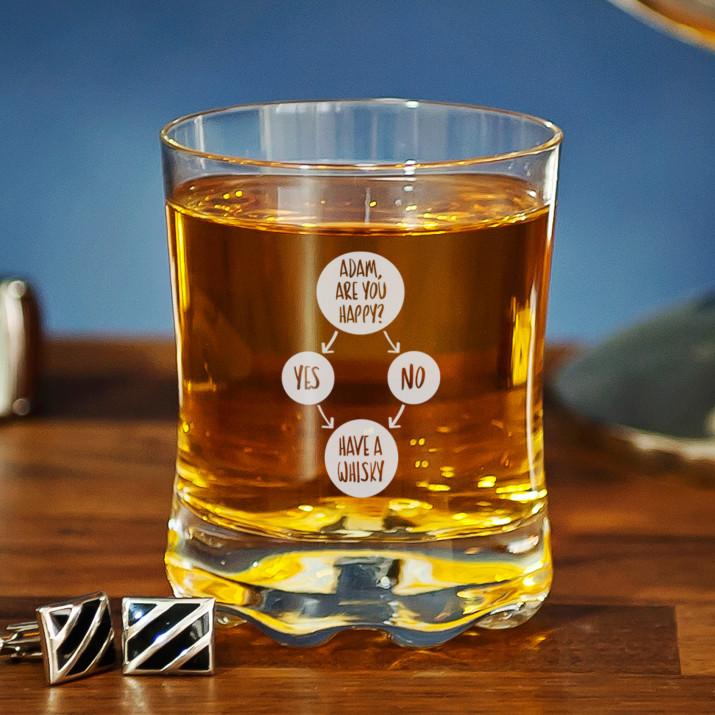 Are you happy - Szklanka do whisky