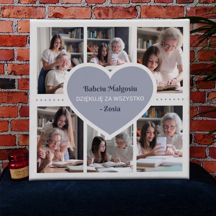 Babcia - Kolaż ze zdjęć