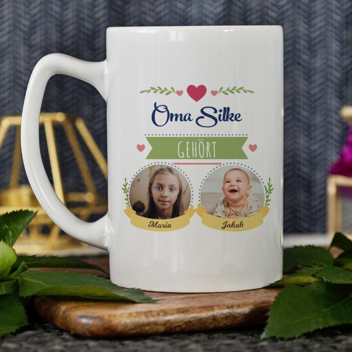 Oma gehört - personalisierte Tasse