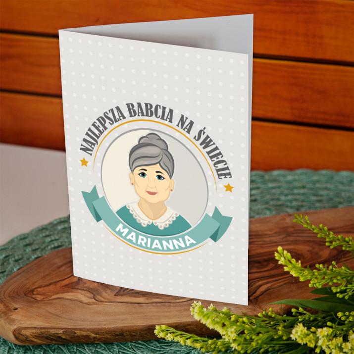 Babunia - kartka z życzeniami