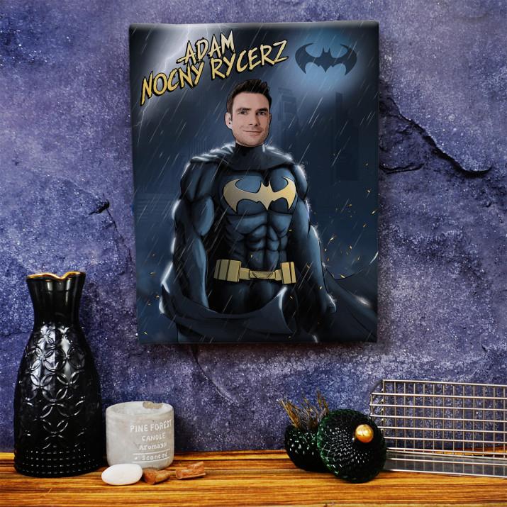 Batman - obraz z Twojego zdjęcia