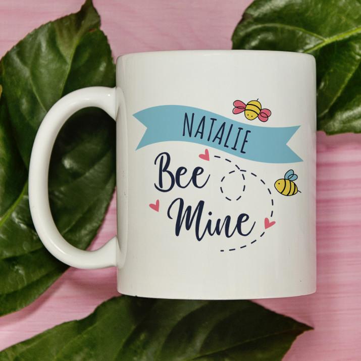 Bee mine - personalisierte Tasse