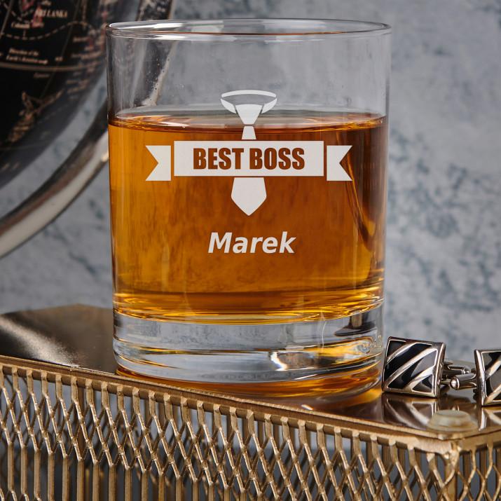 Best boss - Szklanka do whisky