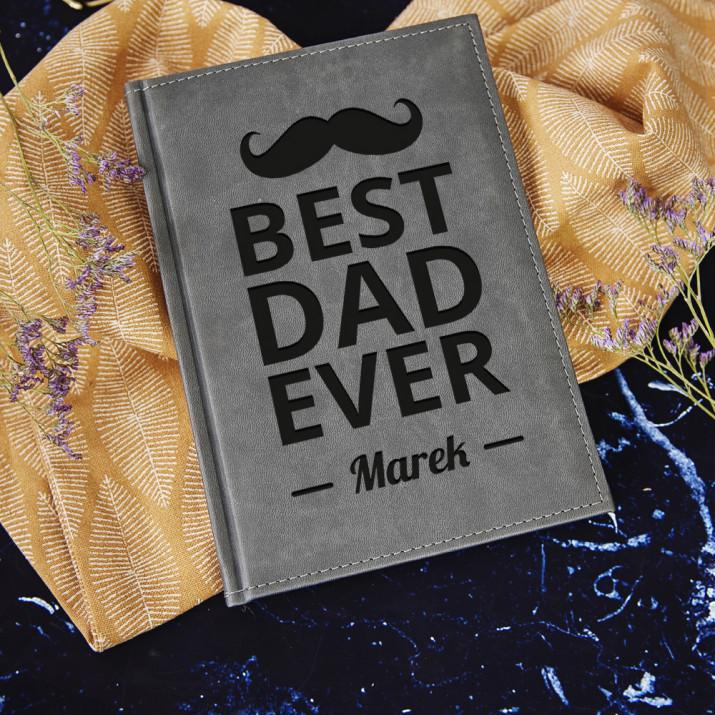 Best Dad - notatnik grawerowany A5