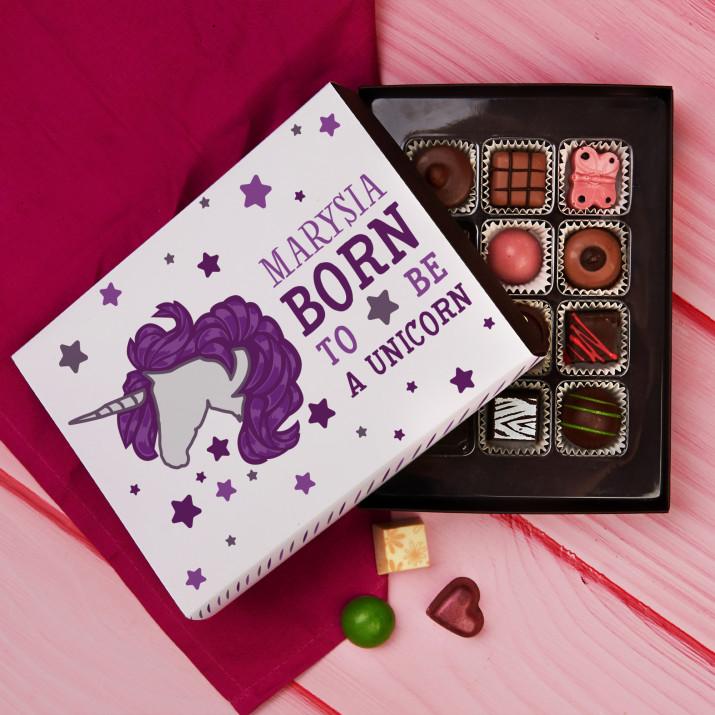 Born to be a unicorn - Praliny z belgijskiej czekolady