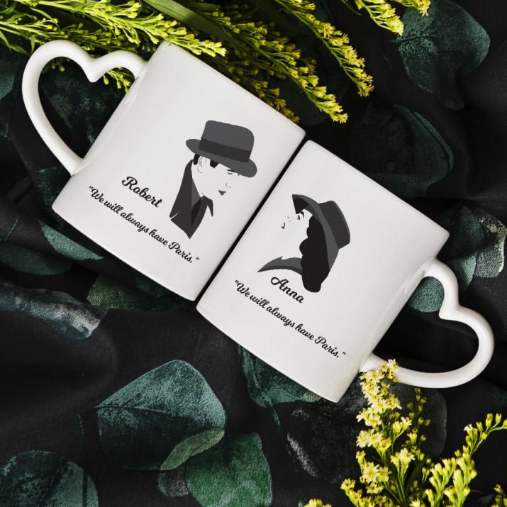 Casablanca - Tassen für Paare