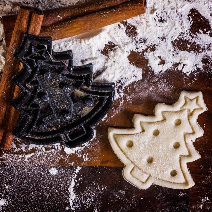 Choinka - foremka 3D do ciastek