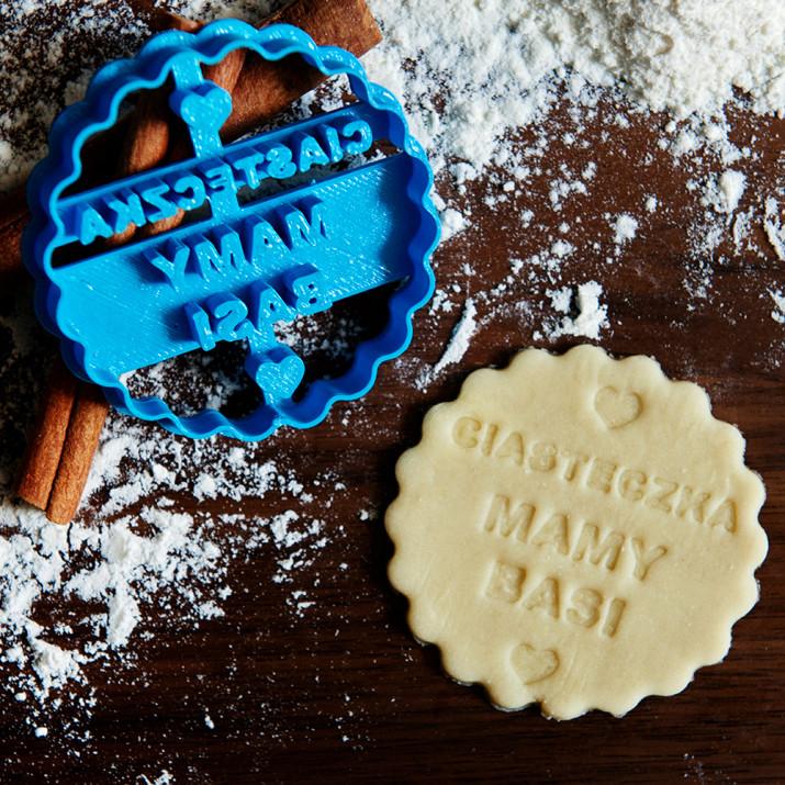 Ciasteczka - personalizowana foremka 3D do ciastek