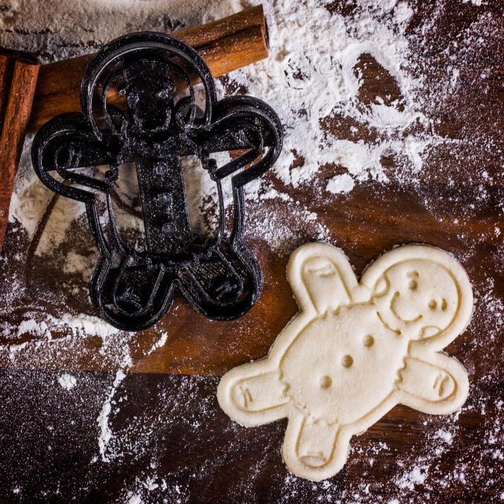 Ciastek - foremka 3D do ciastek