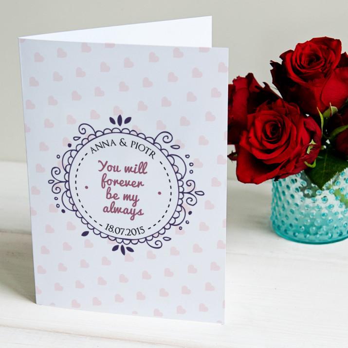 Couple - kartka z życzeniami