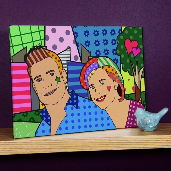 Cubism - obraz na płótnie