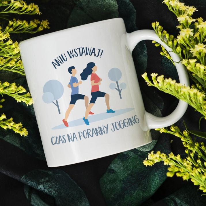 Czas na jogging - Personalizowany Kubek