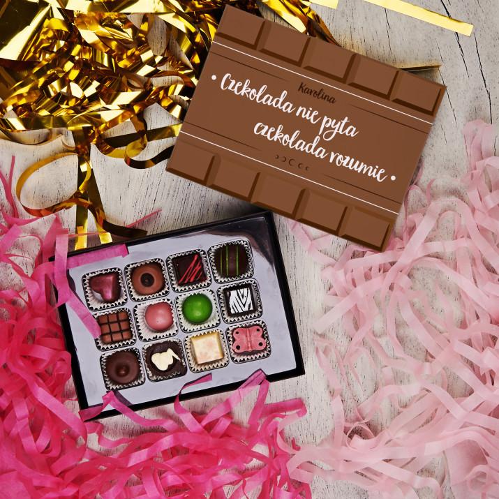 Czekolada nie pyta - Praliny z belgijskiej czekolady