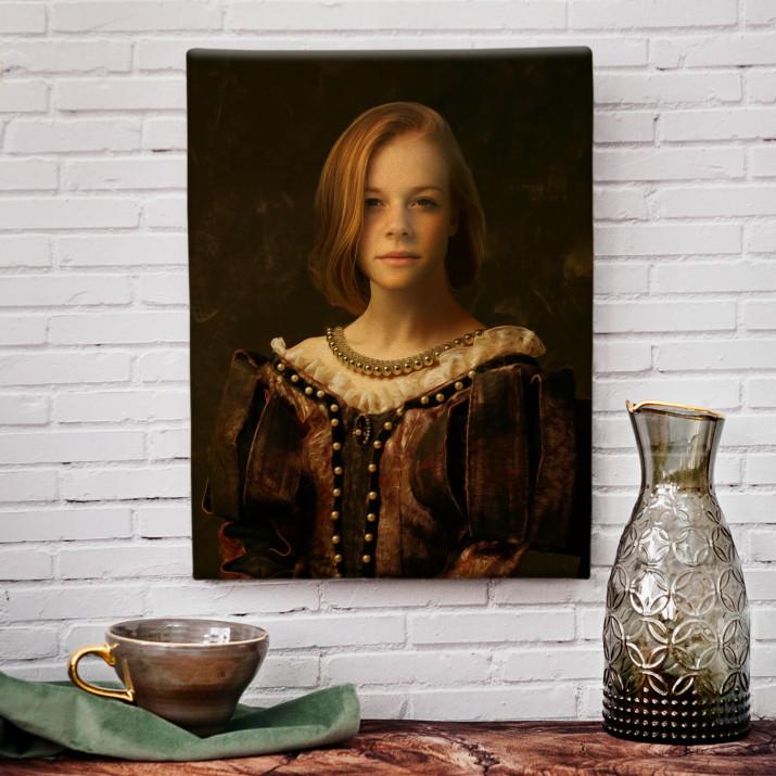 Dama - Królewski portret