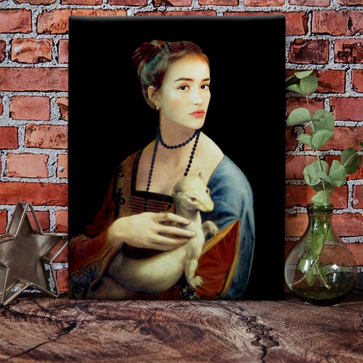 Dama z łasiczką - Królewski portret