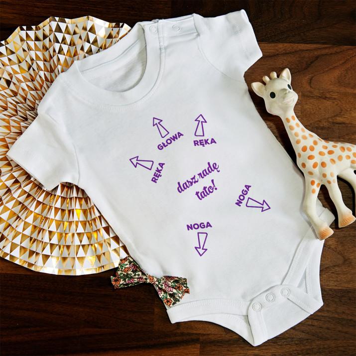 Dasz radę Tato! - body niemowlęce