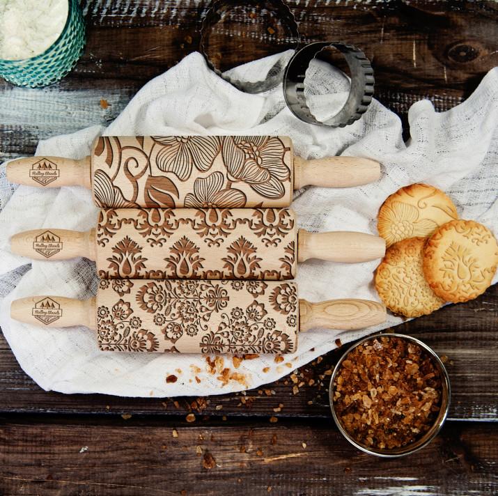 Details - Zestaw 3 MINI Wałki do ciasta