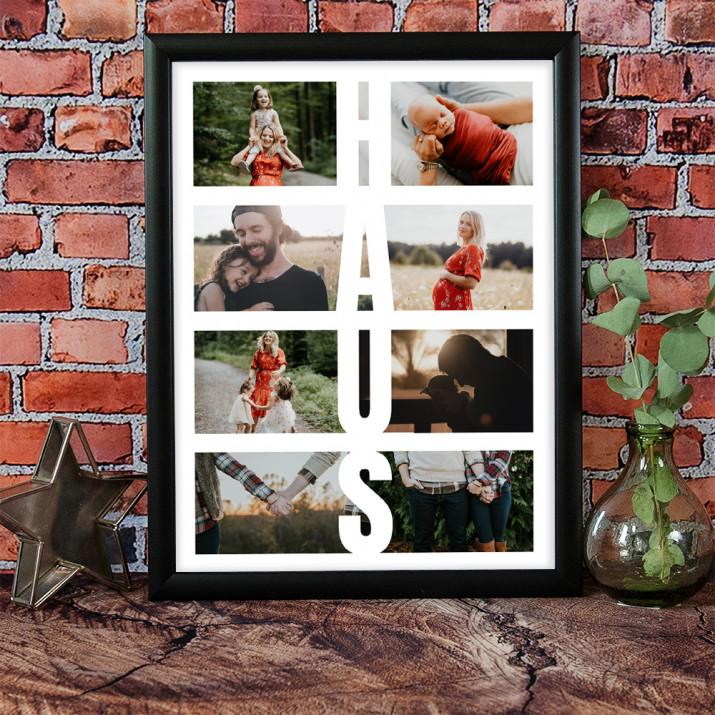 Haus - Collage aus Fotos