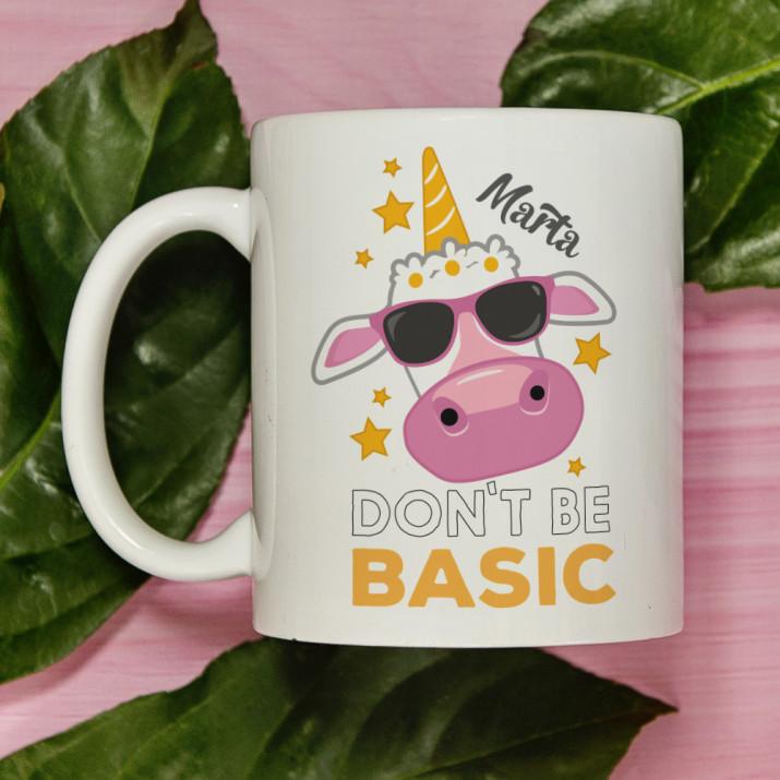 Don`t be basic - Personalizowany Kubek