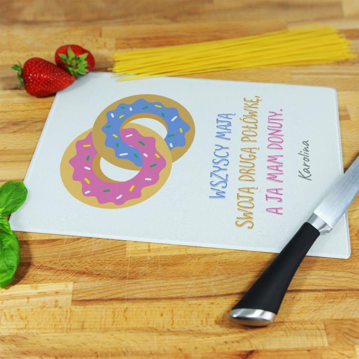 Donuty - deska do krojenia