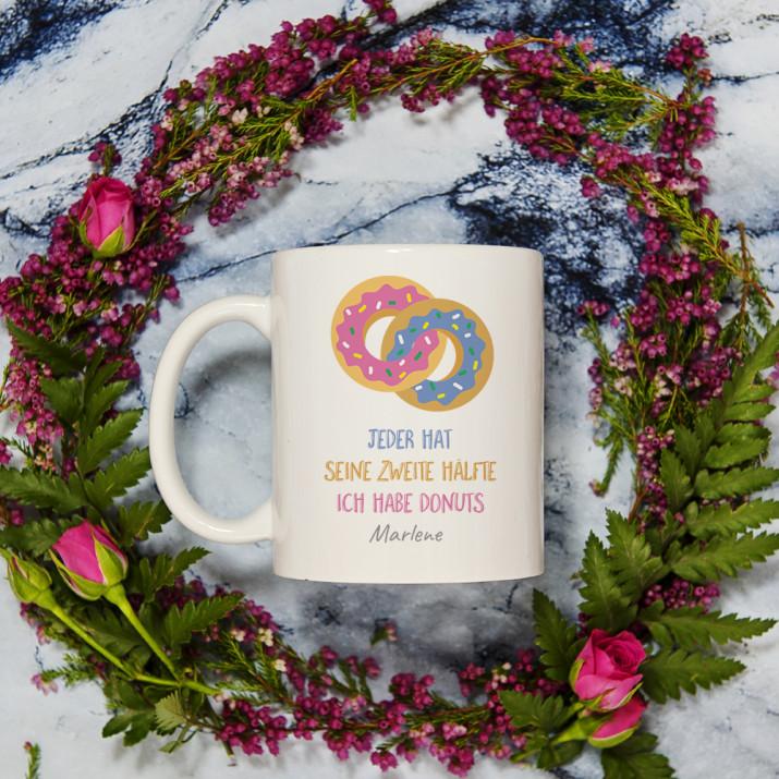 Donuts - Personalisierte Tasse