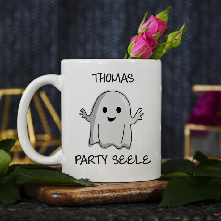 Party Seele - personalisierte Tasse