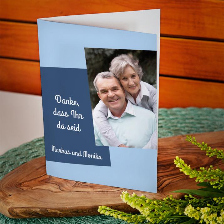 Danke, Großeltern! - Glückwunschkarte
