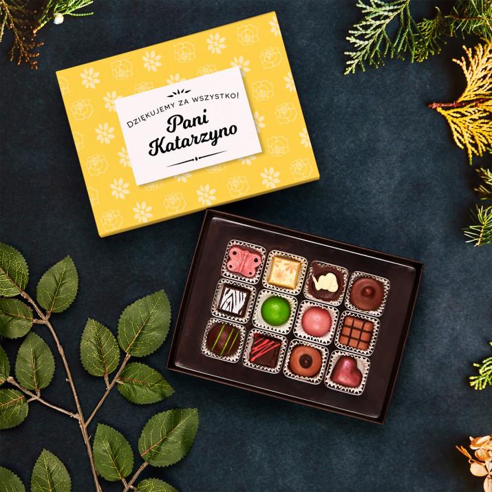 Dziękujemy za wszystko - Praliny z belgijskiej czekolady