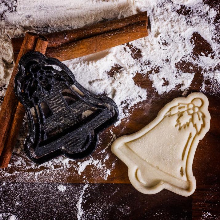 Dzwonek - foremka 3D do ciastek