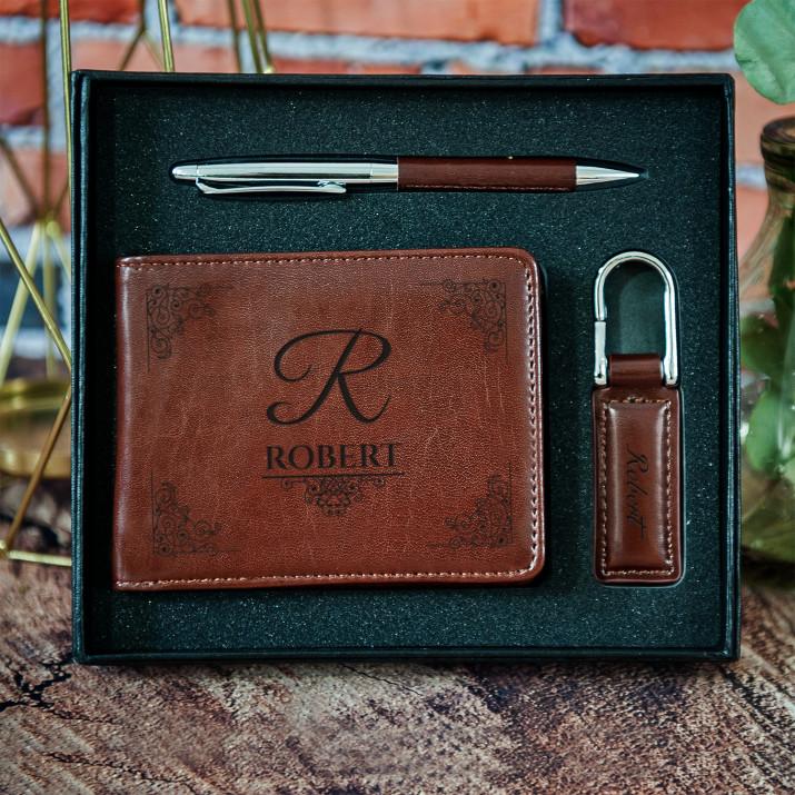 Elegant - zestaw z portfelem
