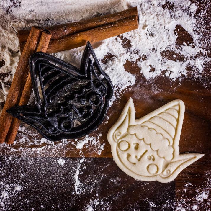 Elf - foremka 3D do ciastek