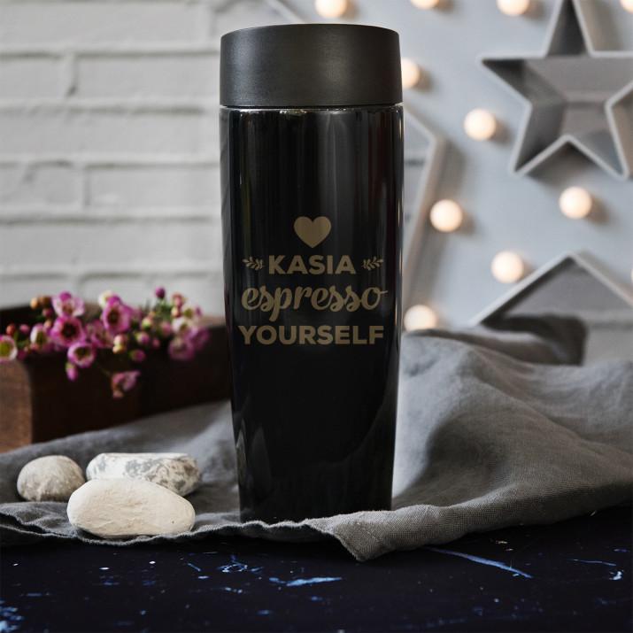 Espresso Yourself - kubek termiczny