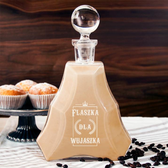 Flaszka dla wujaszka - karafka do nalewek lub likieru