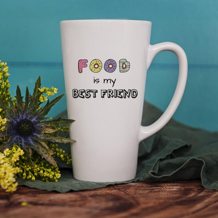 Food is my Best friend - Tasse