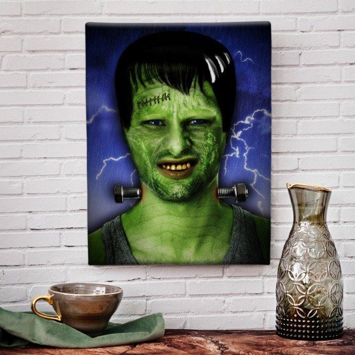 Frankenstein - obraz z Twojego zdjęcia
