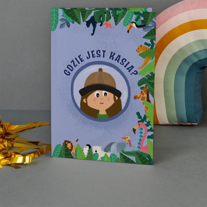 Gdzie jest dziecko - Książka personalizowana
