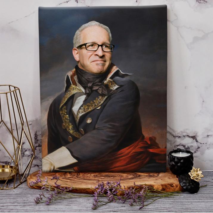 Generał - Królewski portret