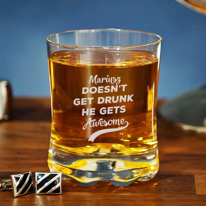 Gets awesome - Szklanka do whisky