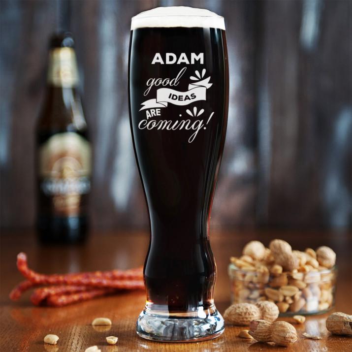 Good ideas - Grawerowana Szklanka do piwa