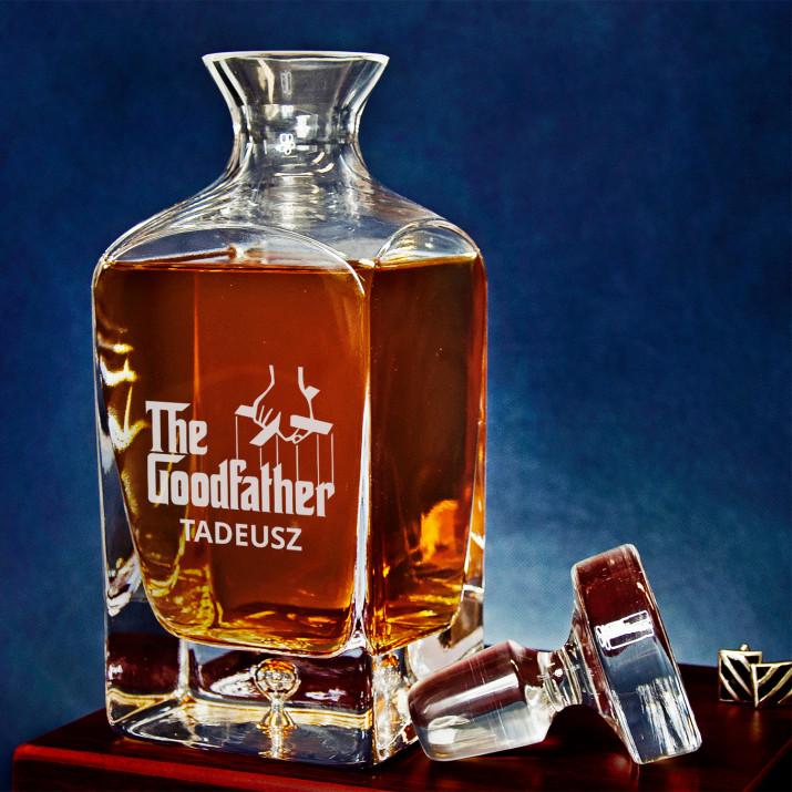 Goodfather - grawerowana karafka