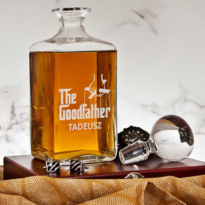Goodfather - grawerowana karafka do whisky