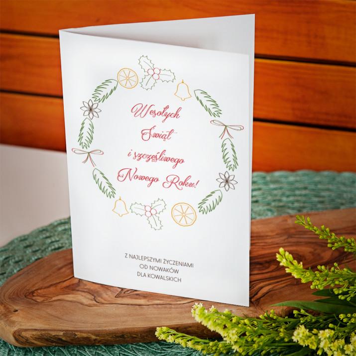 Grzaniec - kartka z życzeniami