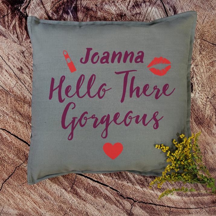 Hello gorgeous - Poduszka dekoracyjna